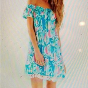 Lilly Pulitzer Marble Dress Beach and Bae XXS